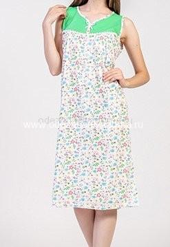 d93043bbd0586fe Ночная сорочка летняя женская без рукавов AL-XAKIM